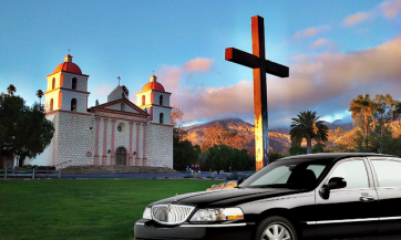 limos-in-Santa-Barbara-the-Mission-2016